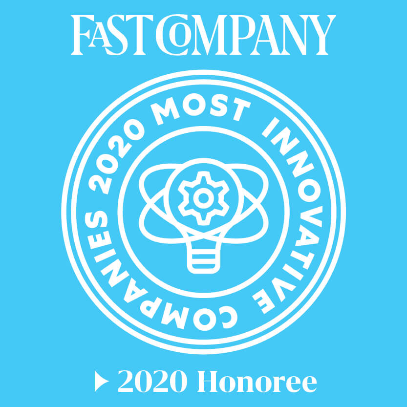 Fast Company - Most innovative companies 2020 honoree