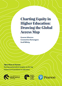 Charting Equity in Higher Education: Drawing the Global Access Map - Report Cover