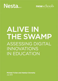 Alive in the Swamp: Assessing Digital Innovations in Education - Report Cover