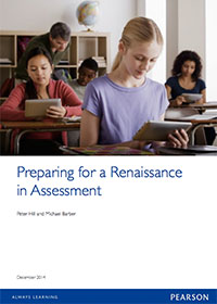 Preparing for a Renaissance in Assessment - Report Cover