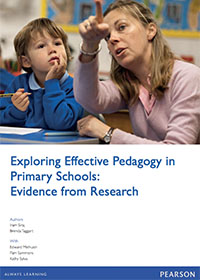 Exploring Effective Pedagogy in Primary Schools: Evidence from Research - Report Cover