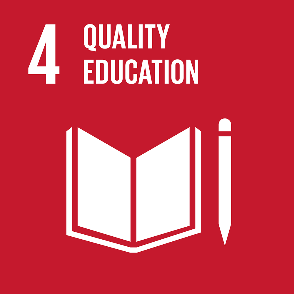 Icon for SDG 4