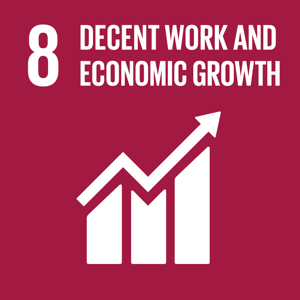 Icon for SDG 8