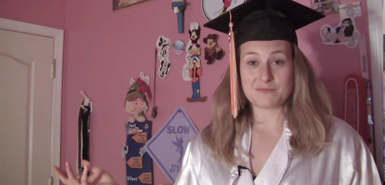 Lyndsey Fry gives video commencement speech