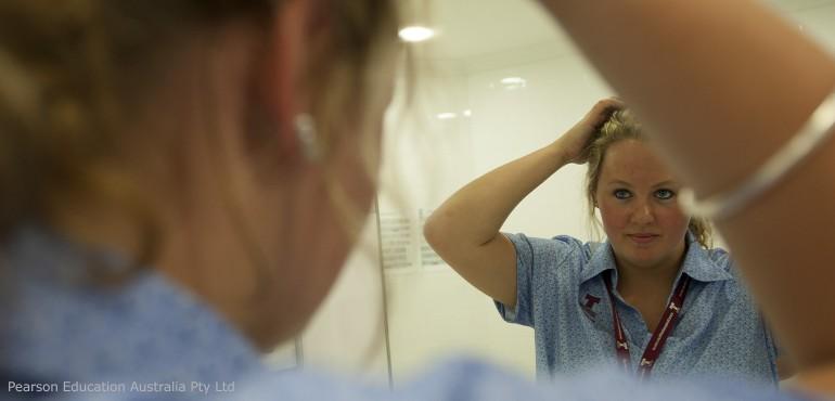 Nursing home worker