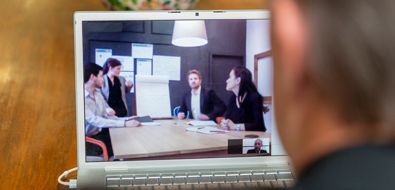 Virtual conference meeting