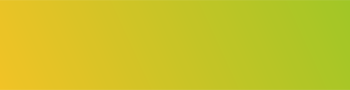 Yellow to lime green ombre rectangle