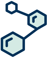 Illustration of a honeycomb strategy