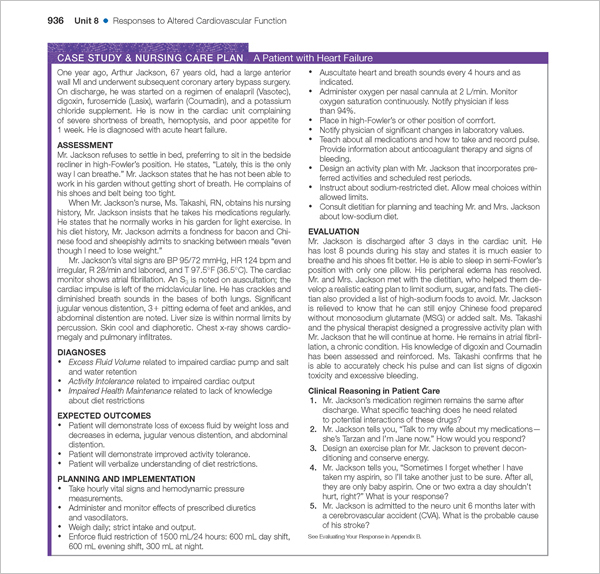 development of patient care plan essay