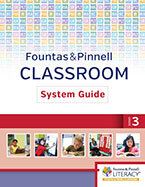 Fountas & Pinnell Classroom System Guide, Grade 3