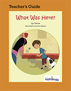 Mathology Little Books - Geometry: What Was Here? Teacher's Guide