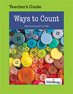 Mathology Little Books - Number: Ways to Count Teacher's Guide