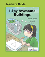 Mathology Little Books - Geometry: I Spy Awesome Buildings Teacher's Guide