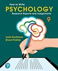 How to Write Psychology Research Reports and Assignments