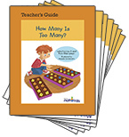 Mathology Little Books - Number: How Many Is Too Many? (6 Pack with Teacher's Guide)