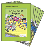Mathology Little Books - Number: A Class-full of Projects (6 Pack with Teacher's Guide)