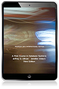 A First Course in Database Systems, Pearson New International Edition eBook