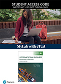 International Business, Global Edition MyLab Management with eText (Access Card)