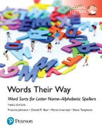Words Their Way: Word Sorts for Letter Name-Alphabetic Spellers, Global Edition