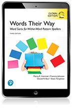 Words Their Way: Word Sorts for Within Word Pattern Spellers, Global Edition eBook