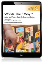 Words Their Way Letter and Picture Sorts for Emergent Spellers, Global Edition eBook