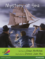 Sails Additional Fluency - Emerald: Mystery at Sea (Reading Level 25-26/F&P Level P-Q)