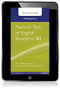 MyEnglishLab: Pearson Test of English Academic B2