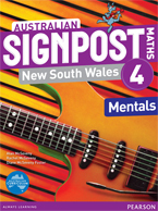 Australian Signpost Maths New South Wales 4 Mentals Book