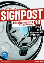 Australian Signpost Mathematics New South Wales 10 (5.1-5.3) Homework Program