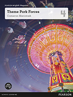 Pearson English Year 4: Theme Park Forces - Student Magazine (Reading Level 26-28/F&P Level Q-S)