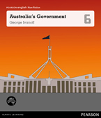 Pearson English Year 6: Governing Australia - Australia's Government (Reading Level 30++/F&P Level W-Y)
