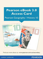 Pearson eBook 3.0 Geography 10 & History 10 (Access Card)