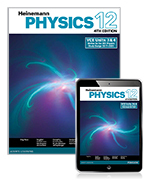 Heinemann Physics 12 Student Book with Reader+