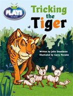 Bug Club Plays - Turquoise: Tricking the Tiger (Reading Level 17-18/F&P Level J)