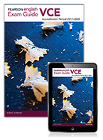 Pearson English VCE Exam Guide with Reader+