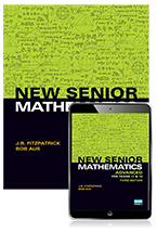 New Senior Mathematics Advanced Year 11 & 12 Student Book with Reader+