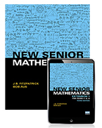 New Senior Mathematics Extension 1 Years 11 & 12 Student Book with eBook