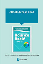 Bounce Back! Years 5-6 Reader+ (Access Card)