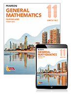 Pearson General Mathematics Queensland 11 Student Book with Reader+