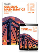 Pearson General Mathematics Queensland 12 Student Book with Reader+