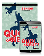 Quoi de Neuf ? Senior Book with eBook