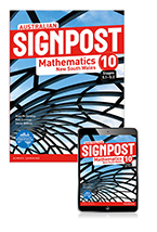 Australian Signpost Mathematics New South Wales 10 (5.1-5.2) Student Book with eBook