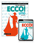 Ecco! uno Teacher Companion with Teacher Reader+ and Audio Download