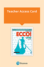 Ecco! uno Teacher eBook and Audio Download (Access Card)