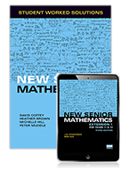 New Senior Mathematics Extension 1 Year 11 & 12 Student Worked Solutions Book with eBook