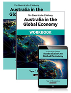 Australia in the Global Economy 2019 Student Book and Workbook with Reader+