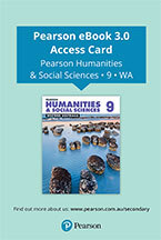 Pearson Humanities and Social Sciences Western Australia  9 eBook (Access Card)