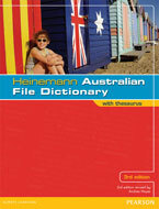 Heinemann Australian File Dictionary with Thesaurus