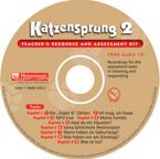 Katzensprung 2 Teacher's Resource and Assessment Kit Audio CD