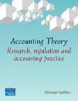 Accounting Theory: Research, regulation and accounting practice